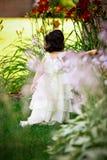 Princesa en el jardín foto de archivo libre de regalías