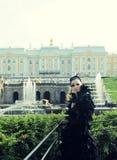 Princesa en el parque fotografía de archivo