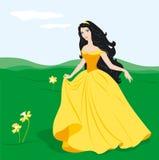 Princesa encantadora Imágenes de archivo libres de regalías