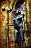 Princesa escura da fantasia Foto de Stock