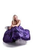 Princesa feliz Imagen de archivo libre de regalías