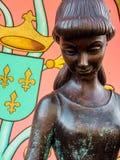 Princesa Gazing Down imagenes de archivo