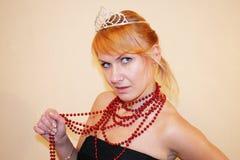 Princesa hermosa Fotos de archivo libres de regalías