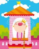 Princesa infeliz Imagens de Stock