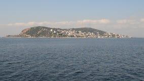 Princesa Island de Estambul Kinaliada almacen de metraje de vídeo