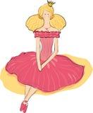 Princesa joven Imágenes de archivo libres de regalías