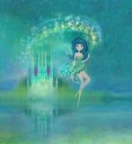 Princesa mágica Castle Fotografía de archivo