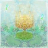 Princesa mágica Castle del cuento de hadas Fotografía de archivo libre de regalías