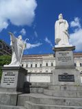 Princesa Olga Monument en la ciudad de Kyiv, Ucrania Fotos de archivo