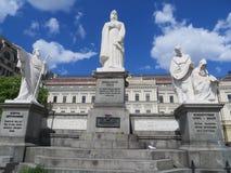 Princesa Olga Monument en la ciudad de Kyiv, Ucrania Imagen de archivo libre de regalías
