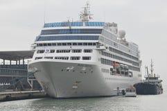 Princesa pacífica Cruise Ship imagem de stock royalty free