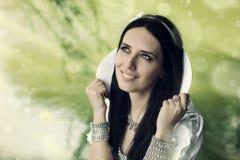 Princesa pelo lago Fotografia de Stock