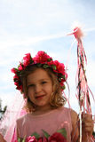 Princesa pequena 3 foto de stock