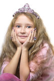 Princesa pequena Foto de Stock Royalty Free