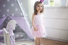 Princesa pequena Imagens de Stock