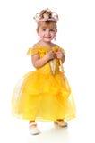 Princesa pequena Fotos de Stock Royalty Free