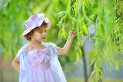 Princesa pequena bonita Foto de Stock Royalty Free