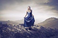 Princesa que vaga Imagen de archivo libre de regalías