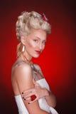 Princesa roja Foto de archivo