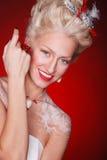 Princesa roja Foto de archivo libre de regalías