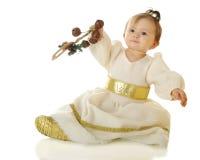 Princesa Shaking da neve Imagens de Stock