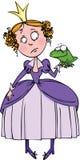 Princesa y la rana Imagen de archivo libre de regalías