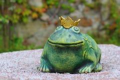 Princess żaba Zdjęcia Royalty Free