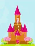 princess в башне Стоковые Изображения RF