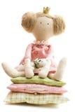princess гороха куклы стоковое изображение