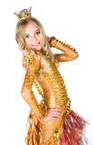 princess девушки costume маленький Стоковые Изображения RF