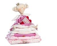 Princess и горох Стоковое Фото