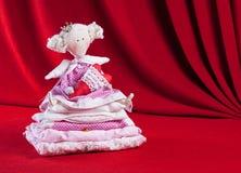 Princess и горох Стоковые Изображения