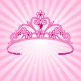 princess кроны Стоковая Фотография