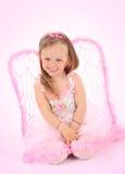 princess портрета платья розовый малый стоковые изображения rf