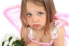 princess портрета платья розовый малый стоковые фотографии rf