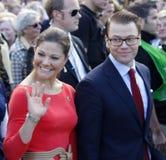 princess Швеция victoria супруга dan кроны стоковое фото