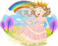 princess Obraz Stock