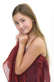 princess 5 burgundy маленький Стоковая Фотография