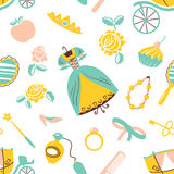 Princess accessory Stock Images