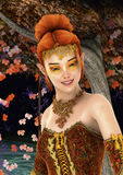 Princess of Autumn Stock Photo