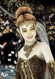Princess of Autumn Royalty Free Stock Photography