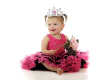 Princess Baby Stock Images