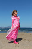 Princess on a beach Stock Photos