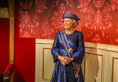 Princess Beatrix, Madame Tussauds Fotografia Stock