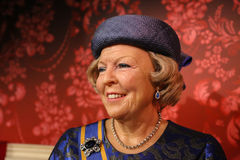 Princess Beatrix. Princess Beatrix in the Madame Tussauds museum Royalty Free Stock Photography