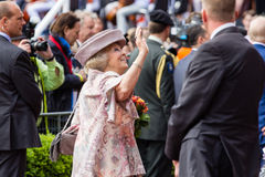 Princess Beatrix of The Netherlands Stock Photography