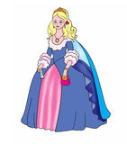 A princess Royalty Free Stock Image
