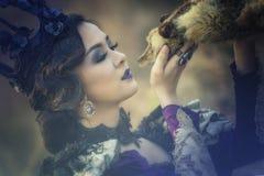 Princess. A beautiful girl wearing a beautiful princess,princess girl Stock Photography