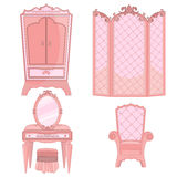 Princess Bedroom Stock Images