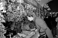 PRINCESS BENEDIKTE AT SWEDISH CHRISTMAS BAZAR Stock Photo